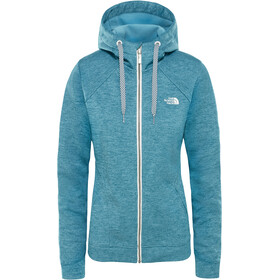 The North Face Kutum Sweat à capuche zippé Femme, storm blue heather